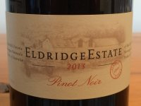 Eldridge Estate Pinot Noir wine bottle